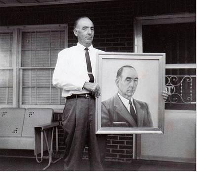 Anne-Elizabeth Whiteway - My Father with his Self--Portrait