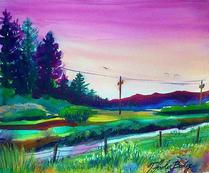 My Favorite View of GoodRich Creek by Therese Fowler-Bailey