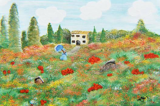 My Field Of Poppies by Sherry Allen