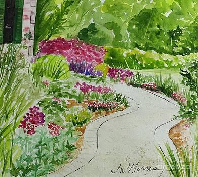 My Flower Path by Jill Morris