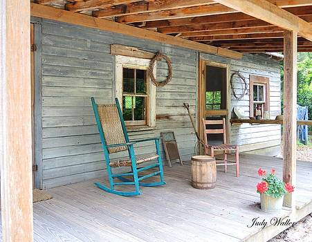My Front Porch by Judy  Waller
