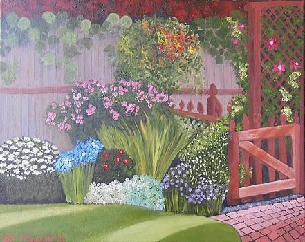 My Garden Gate by Dorothy Merritt