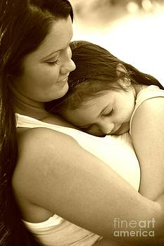 My Girls Sepia by Margaret Newcomb