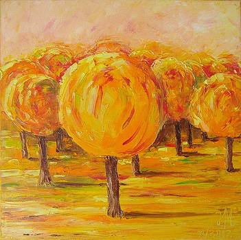 My hot autumn by Nina Mitkova