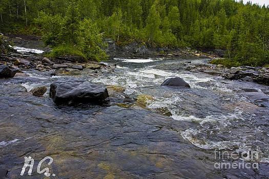 My Lovely River Neselva - Norway. by Andrzej Goszcz by  Andrzej Goszcz