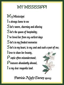 My Mississippi - Poetry  by Patricia Neely-Dorsey