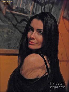 My Mona Lisa -  Stay with me. by  Andrzej Goszcz