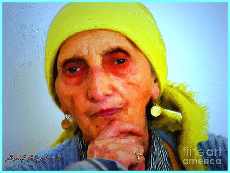 My mother artwork 09 by Arif Zenun Shabani