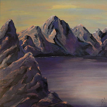 My Mountain Lake by Shirley Watts