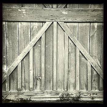 My Neighbor's Barn Doors by Deirdre Ryan