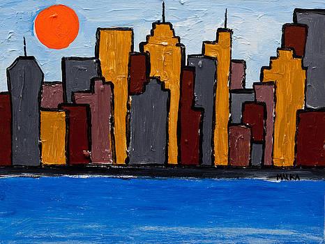 MY New York by Marlene MALKA Harris