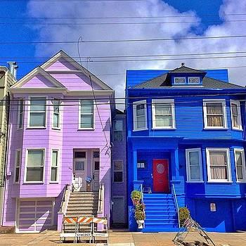 My Next Door Neighbors Just Painted by Karen Winokan