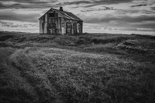 My old house on the hill by Arnar B Gudjonsson