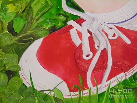 My Red Shoe by Peggy Dickerson
