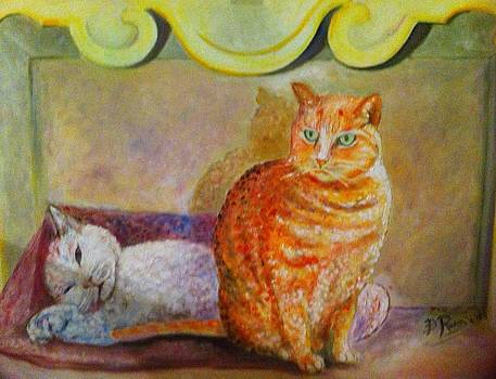 My Sister In Law  Cats by B Russo