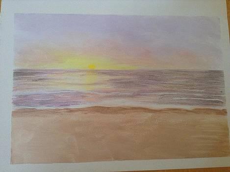 My sister's sunrise by Teresa Hirst