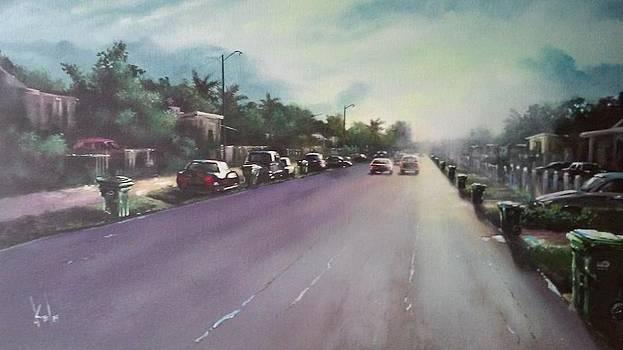 My street by Carlos Reyes