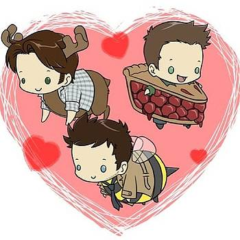 My Three Loves!! by Gaby Vazquez