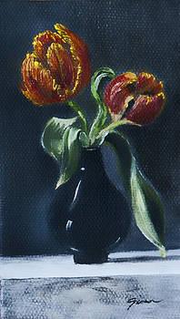 My Tulips by Gina Cordova