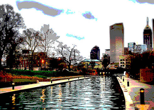 My version of Canal in  Indy by Rob Banayote