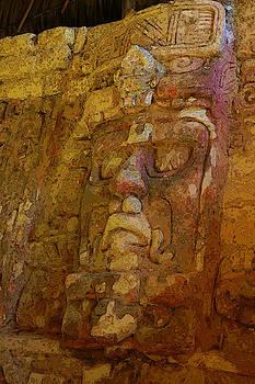Herb Paynter - Myan Wall Sculpture