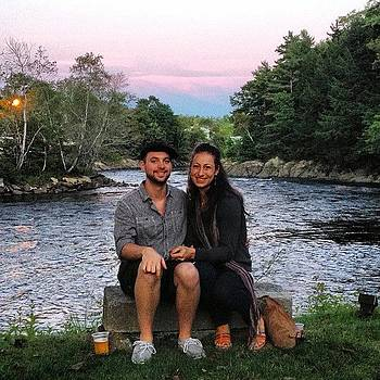 #myboyfriend And I, In #maine by Megan Rudman