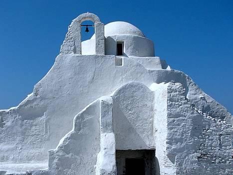 Mykonos Church by Bonita Hensley