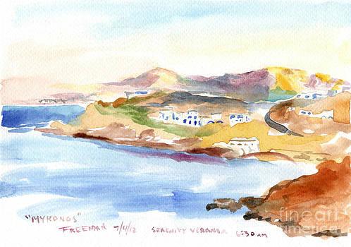 Valerie Freeman - Mykonos Coast