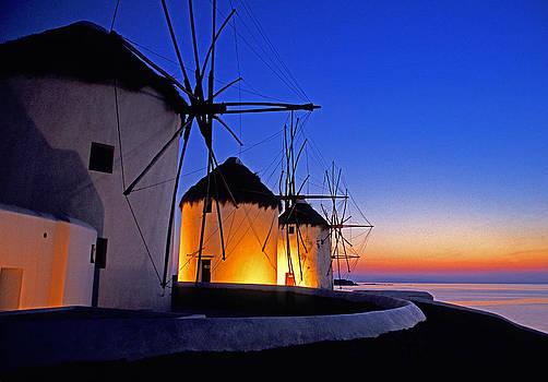 Dennis Cox - Mykonos sunset