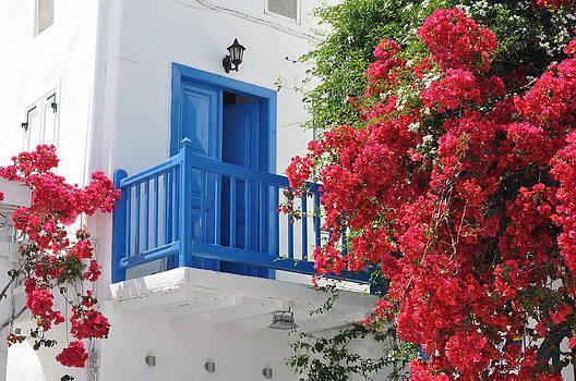 Mykonos Town by Kathy Schumann