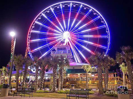 Myrtle Beach Sky Wheel by Mike Covington