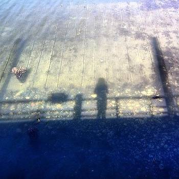 #myshadow #reflection In The #water by Megan Rudman