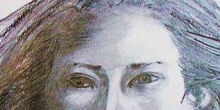 Mysterious Eyes by Deborah Gorga