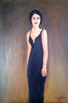 Mysterious lady by Elizabeth Diaz
