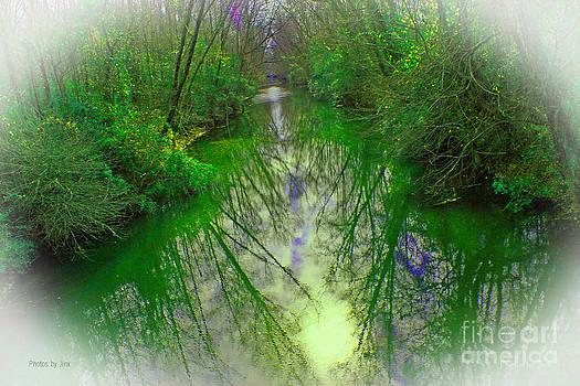 Mysterious Stream by Jinx Farmer