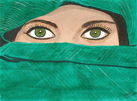 Mysterious Woman by Catia Silva