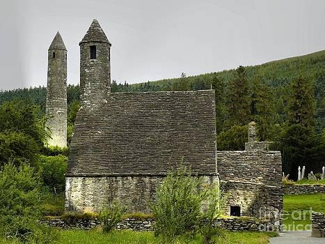 Mystic Glendalough by Gisela Scheffbuch