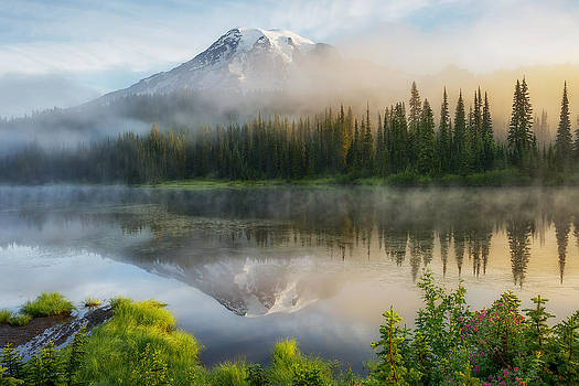 Mystic Rainier by Ryan Manuel