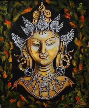 Mystic Tara  by Greeshma Manari