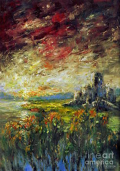 Mystical Castle by Arturas Slapsys