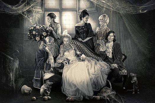 Mystical Family by Cindy Grundsten