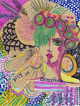 Mystical Girl by Rosalina Bojadschijew