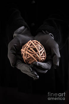 Edward Fielding - Mystical hands holding a woven ball