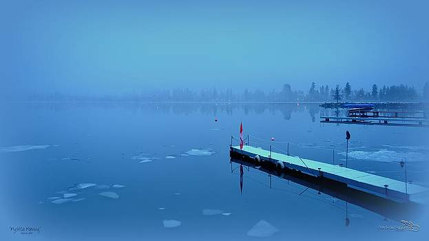 Guy Hoffman - Mystical  Morning - Skaha Lake 03-06-2014