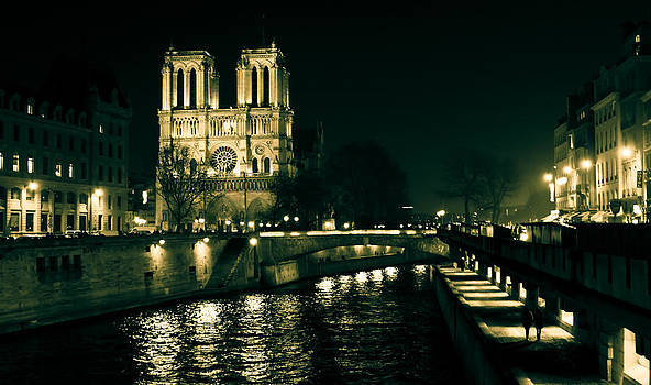 Mystical Notre Dame de Paris by Calvin Hanson