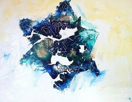 Mystical Star David by Tonya Mower Zitman
