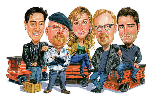 Mythbusters by Art