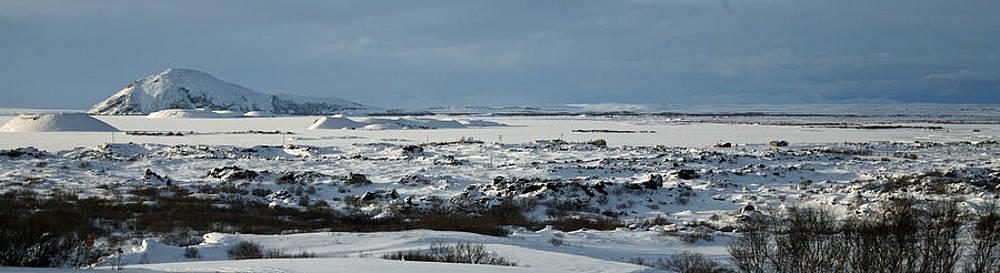 Myvatn Landscape by Derek Sherwin