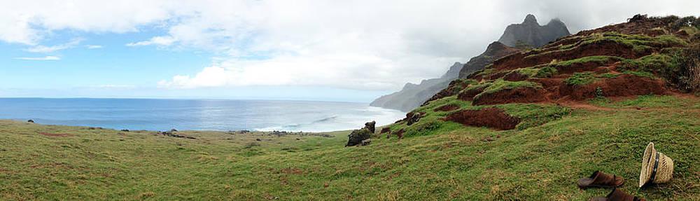 Na Pali Coast Kalalau by Tropigallery -