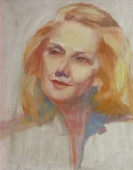 Nadine Gordimer by Irena  Jablonski